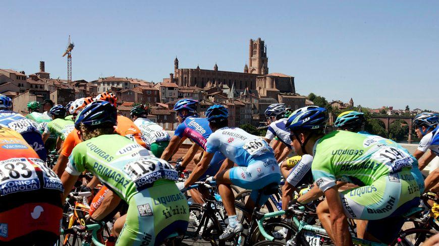 Le Tour de France à Albi en 2005.