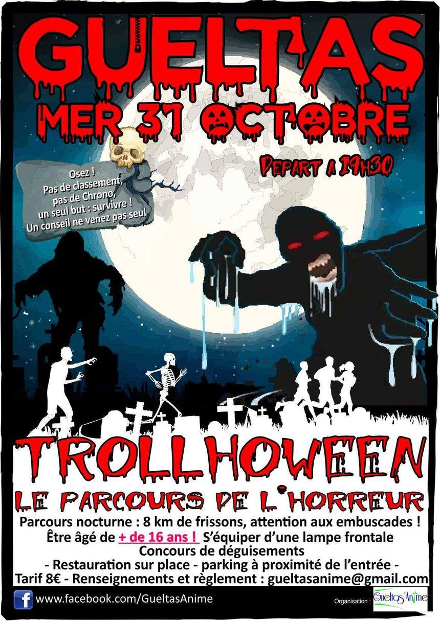 Un parcours d'horreur pour Halloween...n'y allez pas seul !