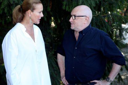 Carole Bouquet et Michel Blanc au Festival du Film Francophone d'Angoulême
