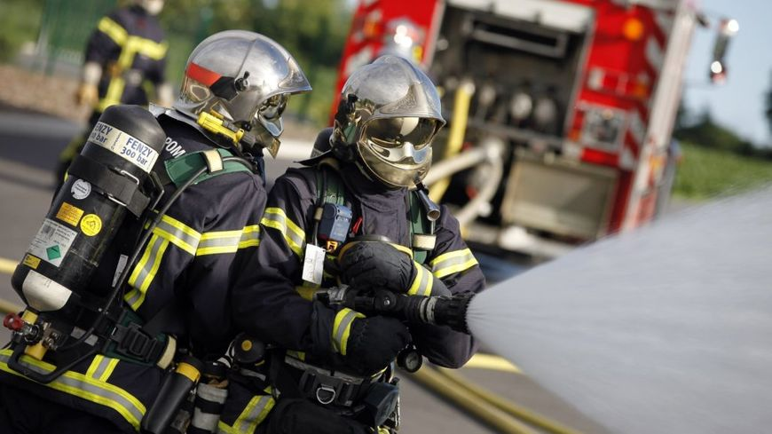 Pompiers France exercice