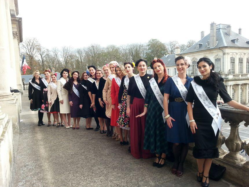 Les candidates à l'élection de Miss Pin-Up France