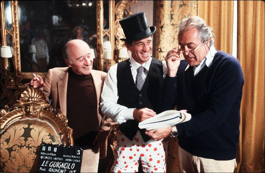 Michel Audiard, Jean Paul Belmondo et Georges Lautner - Le Guignolo