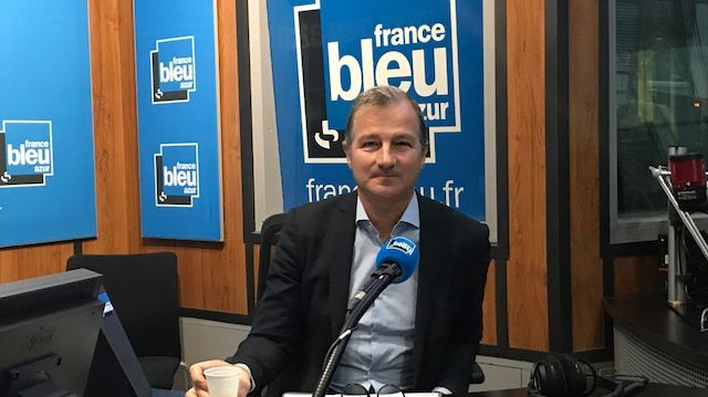 Fabien Paul, invité de France Bleu Azur Matin
