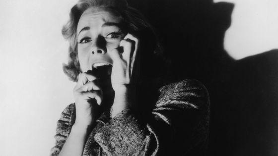 Vera Miles dans le film Psychose de Alfred Hitchcock