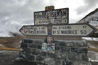 Présentation de la 19e étape du Tour de France 2019, au sommet du Col de l'Iseran le 25 octobre 2018.