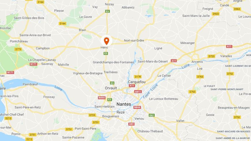 Le drame a eu lieu dans une maison d'Héric, à une vingtaine de kilomètres au nord de Nantes