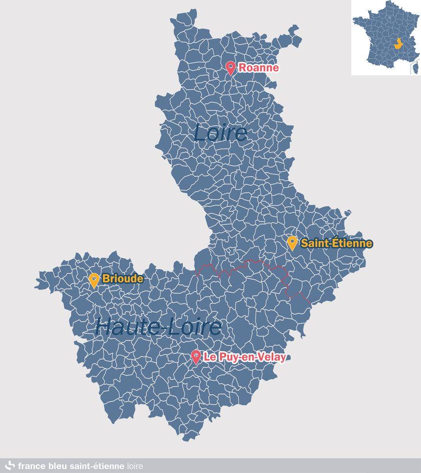 Le Tour de France fera étape dans la Loire puis en Haute-Loire
