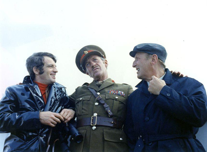 le cerveau avec Bourvil, David Niven, Jean-Paul Belmondo