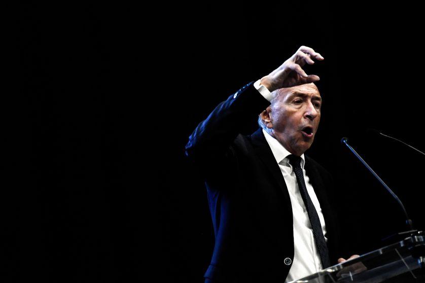 Le ministre de l'Intérieur, Gérard Collomb