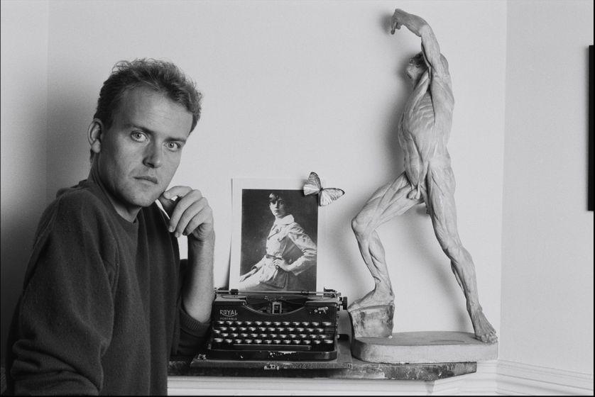 Hervé Guibert en septembre 1988