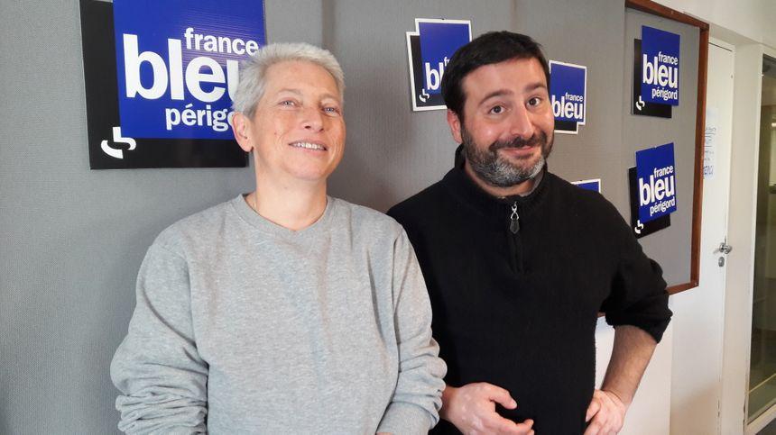 Marie-Noëlle François à France Bleu Périgord