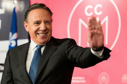 Le leader de la CAQ et futur premier ministre du Québec François Legault