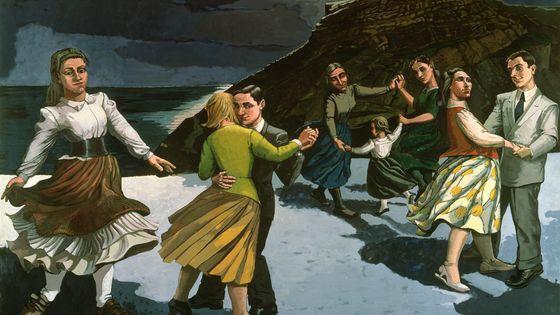 Paula Rego  The Dance, 1988  Acrylique sur papier monté sur toile  212,6 x 274 cm