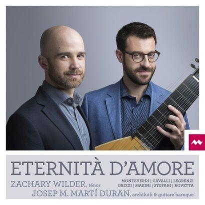 Eternità D'Amore : Monteverdi - Cavalli - Legrenz