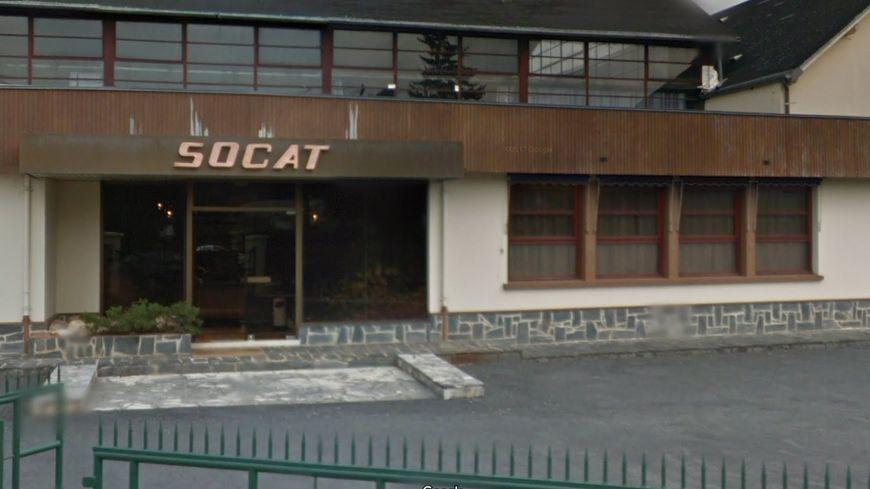 Capture d'écran de l'entrée de la Socat à Terrasson-Lavilledieu