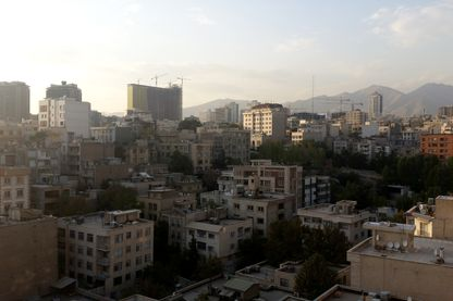 Vue du très moderne centre-ville de Téhéran