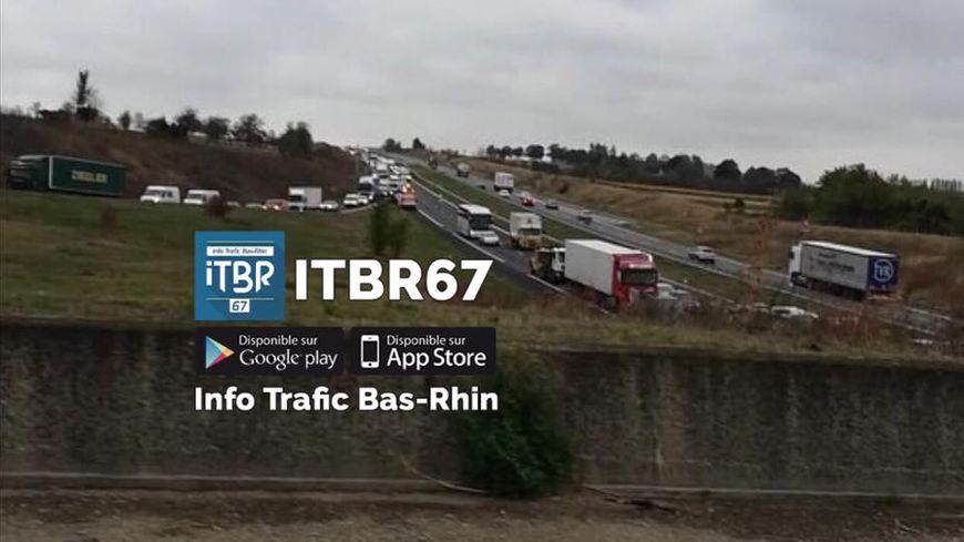accident sur l 39 a35 l 39 autoroute coup e pendant trois heures au sud de strasbourg. Black Bedroom Furniture Sets. Home Design Ideas