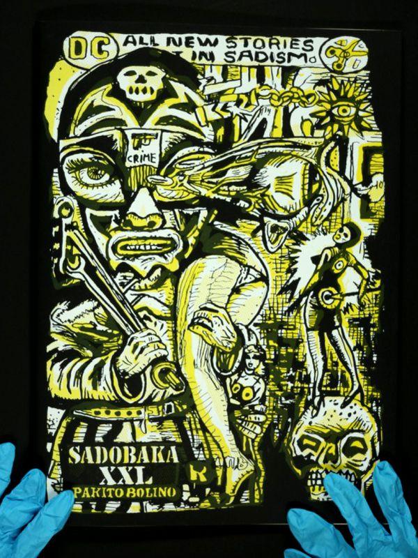 Couverture de Sadobaka XXL, Pakito Bolino
