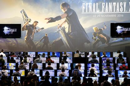 "Grande compétition de gaming pour ""Final Fantasy XV"" à la Paris Games Week, le 28 octobre 2016 (Porte de Versailles, Paris)"