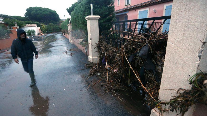 La commune de Roquebrune une nouvelle fois touchée par les intempéries.