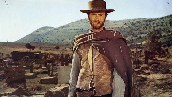 Clint Eastwood dans Le Bon, la Brute et le Truand de Sergio Leone