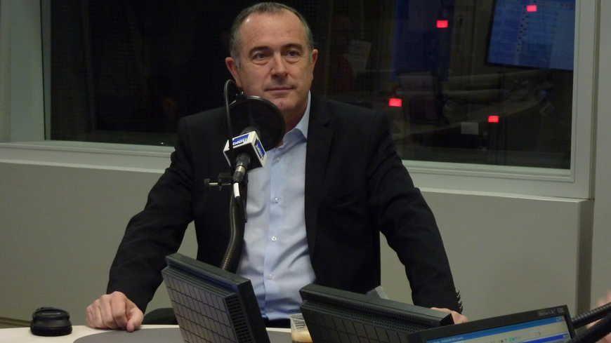 Didier Guillaume dans les studios FBDA (Image d'Archives)