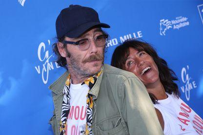 Romane Bohringer et Philippe Rebbot au Festival du film francophone d'Angoulême (2018)