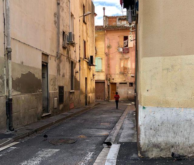 Quartier en voie de démolition, Perpignan