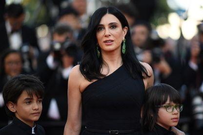 Nadine Labaki,  actrice, réalisatrice et scénariste libanaise, au Festival de Cannes en mai 2018