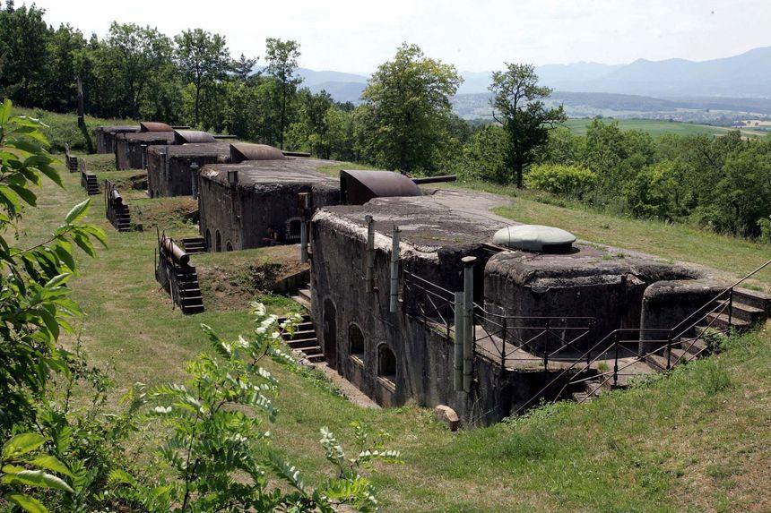 Le fort de Mutzig.