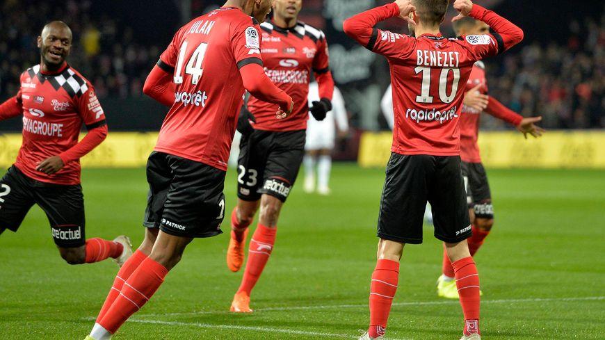 Encore un but décisif pour Nicolas Bénézet, le Guingampais