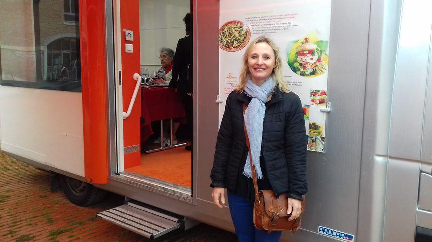 Béatrice Kwapisz, la chef du service personnes âgées du Centre Communal d'Action Sociale de la ville d'Amiens