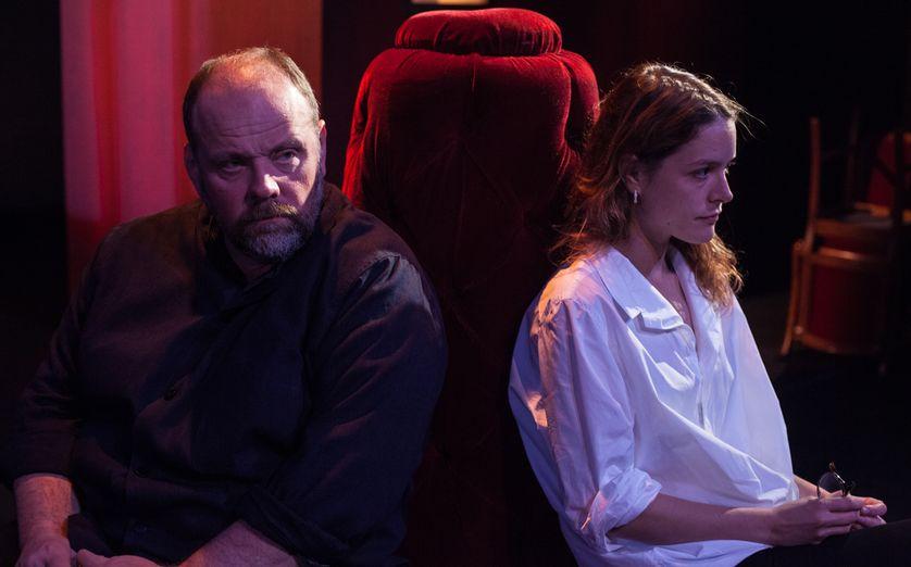 """Grégory Gadebois dans """"La musica deuxième"""" de Marguerite Duras (mise en scène Jacques Weber)"""