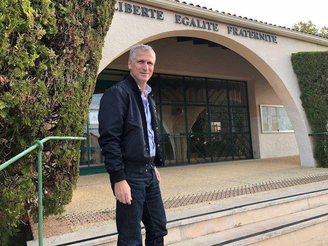 Philippe Ribot, maire de Saint-Privat-des-Vieux.