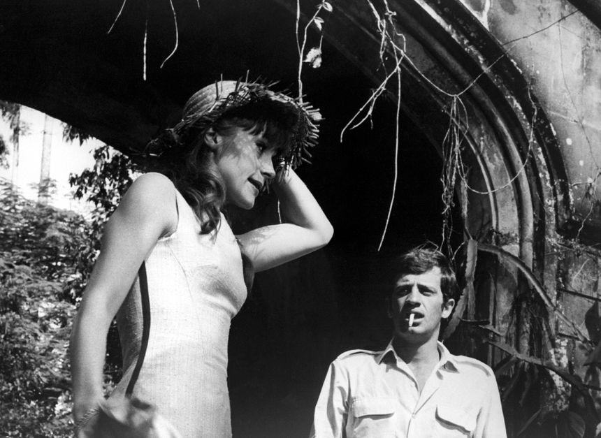 L'homme de Rio - Françoise Dorléac et Jean-Paul Belmondo