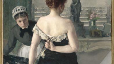Alfred Roll, Après le bal, 1886, Musée d'arts de Nantes, photographie
