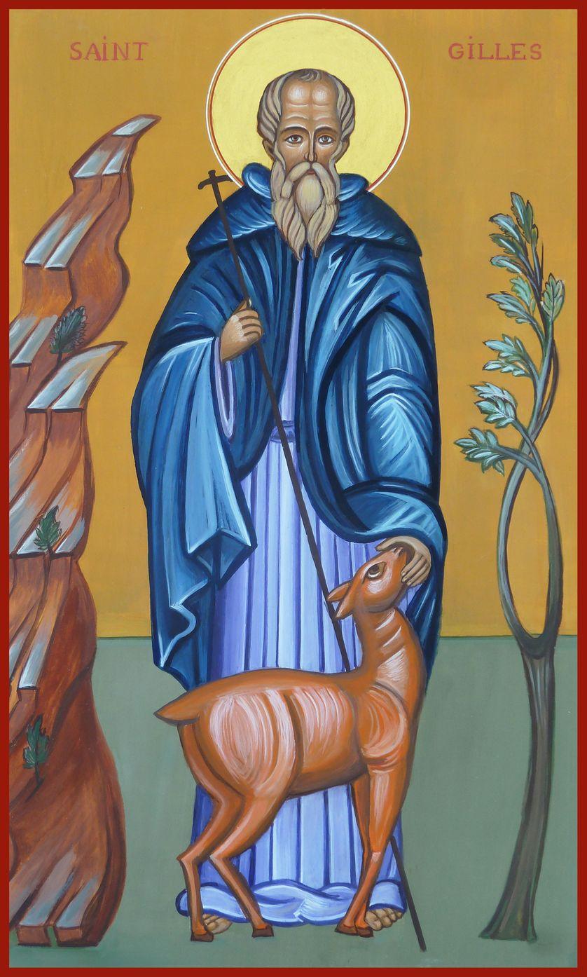 Saint Gilles (icône moderne)