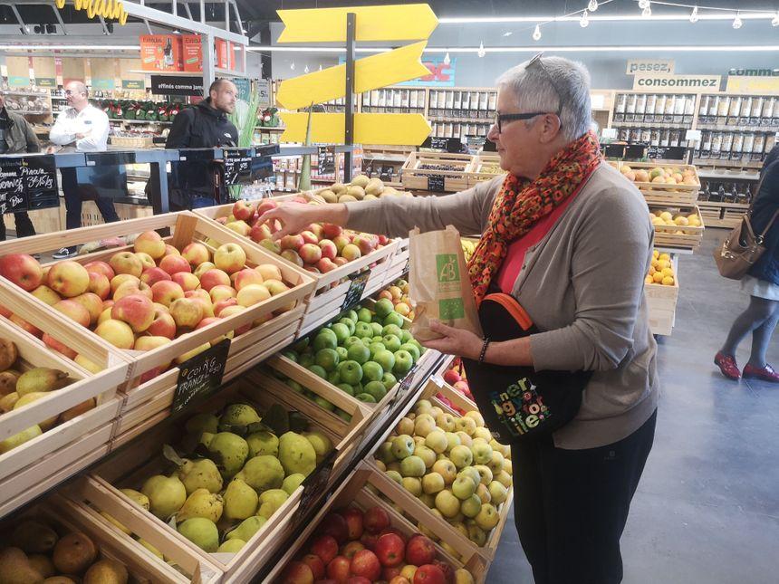 Les fruits et légumes sont presque exclusivement des deux Charentes.