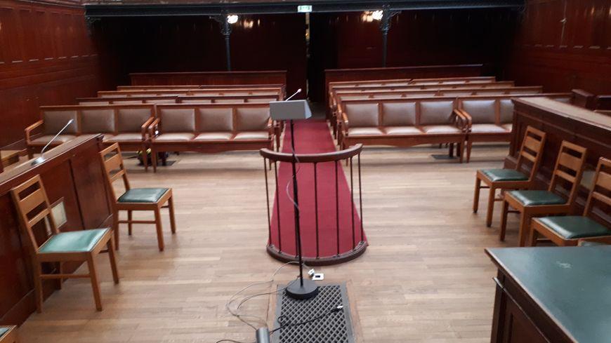 La salle d'audience