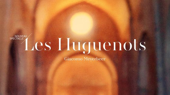 Affiche Les Huguenots