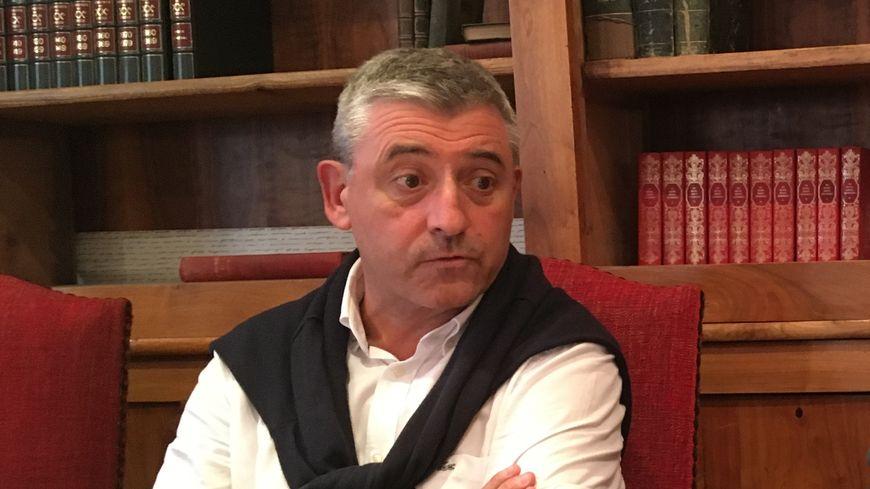 Le maire d'Oloron, Hervé Lucbéreilh