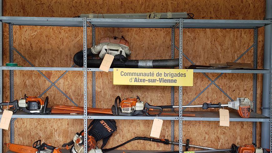 Les gendarmes d'Aixe-sur-Vienne ont retrouvé le matériel déclaré volé dans un local appartenant au couple à l'origine de la plainte