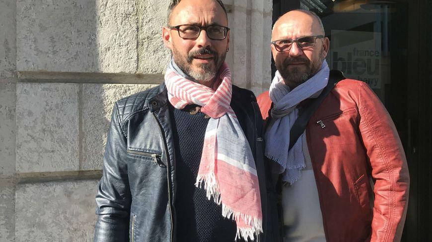 Fabrice Bouchet et Jérôme Sécheresse se déplacent dans l'Indre et le Cher.