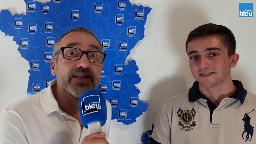 Doryan da Silva avec Alain Gineste
