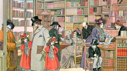La librairie, une histoire de famille