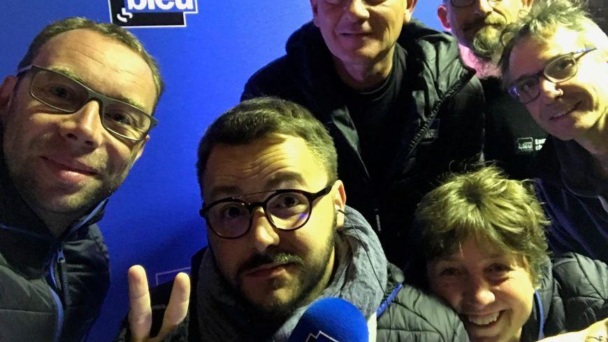 Toute l'équipe de la matinale de France Bleu Besançon était à Pontarlier ce vendredi