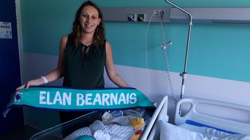 Laurie, la maman de Lucas, a finalement accouché quelques heures après le match de l'Elan Béarnais face à l'ASVEL.