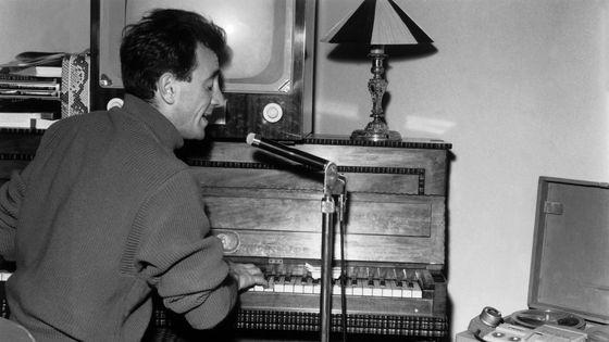 Charles Aznavour en 1956
