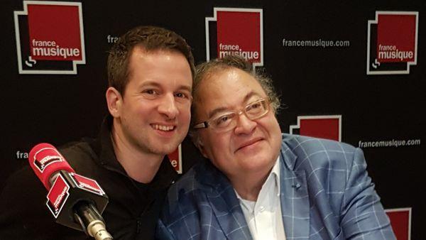 Bertrand Chamayou & Frédéric Lodéon, 2 octobre 2018 - émission Carrefour de Lodéon sur France Musique