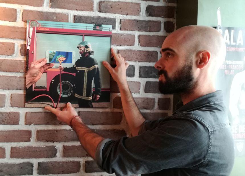 François Dourlen expose ses photos dans un bar cherbourgeois